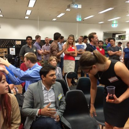 "Excitement At Startup Weekend Perth 2014. Mayor Of Perth Wants ""More of that"""