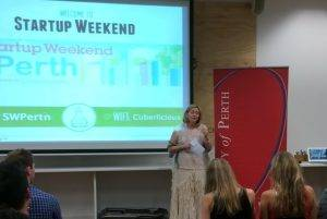 Lisa Scaffidi at Startup Weekend Perth 2014