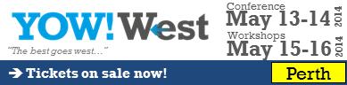 Yow! West Banner Logo