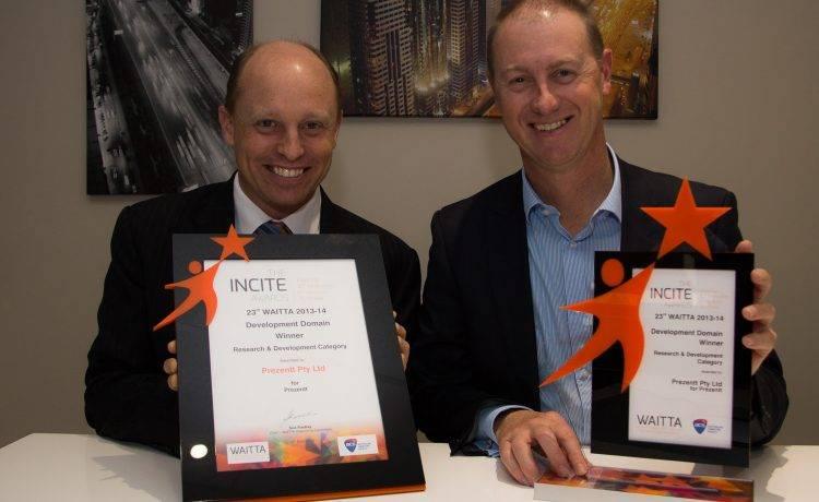 Prezentt Wins WA's Top Award For R&D Innovation