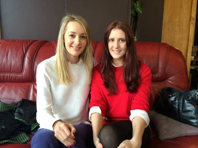 Holly Mitchell and Louisa Miller