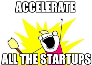 accelerate all the startups
