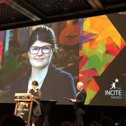 Dr Kate Raynes-Goldie Wins WAIITA Achiever Award