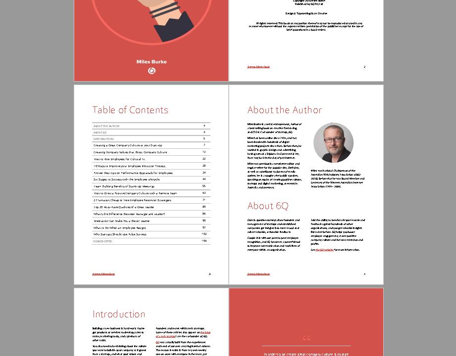 Startup Culture Book spread