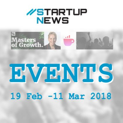 Startup Events: 19th Feb to 11th March
