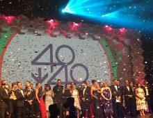 Startups shine among this year's 40under40 winners