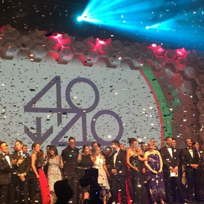 Startups shine among this year's 40under40 winners