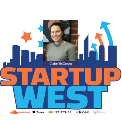 Startup West podcast ep2: Claire McGregor from Appbot