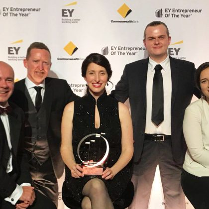Power Ledger founder recognised by EY