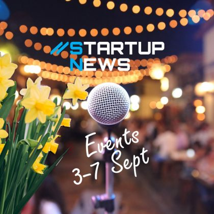 Startup Events: 1st week in September