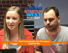 Startup West podcast ep4: Chloë and Sam from Startup WA