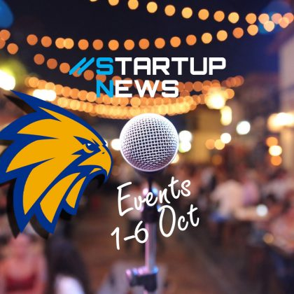 Startup Events: first week in October