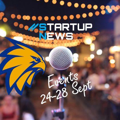 Startup Events: last week in September
