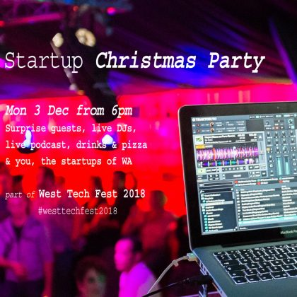 Get your Startup Christmas Party tickets here!