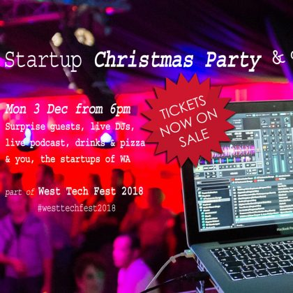 Startup Events: 1st week of November