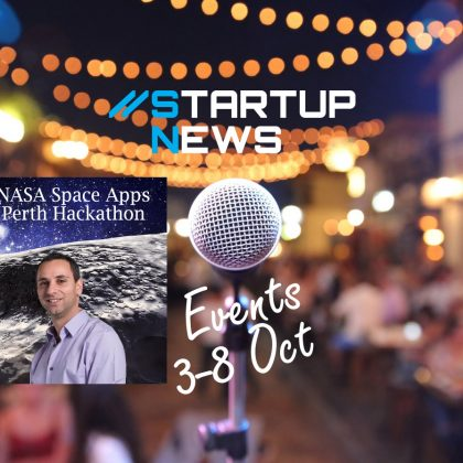 Startup Events: 8-13 October