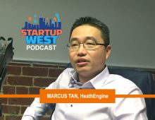 Startup West podcast ep7: Dr Marcus Tan, HealthEngine