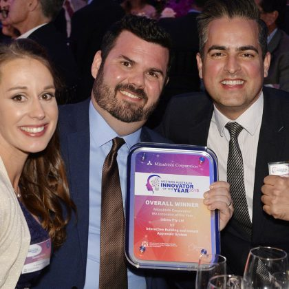 Udrew takes out Innovator of the Year Award