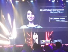 Jemma flies the world stage, returns with multiple awards