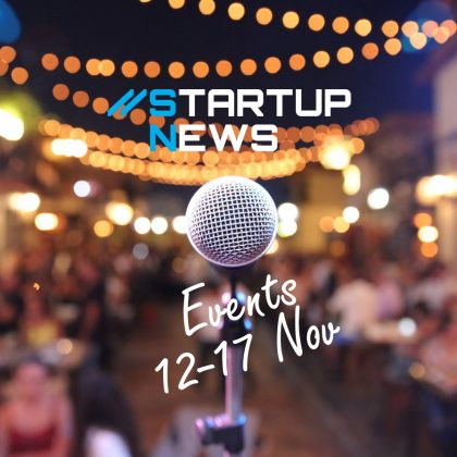 Startup Events: 12th-17th November