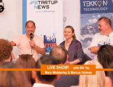 Startup West podcast ep10: LIVE SHOW with Bill Tai, Mary Webberley and Marcus Holmes