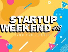 Startup Weekend Perth is back for its 13th time