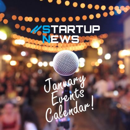 Your January Startup Events…
