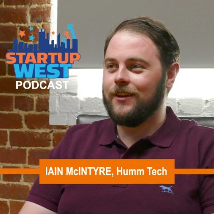 Startup West podcast ep13: Iain McIntyre, HUMM Tech