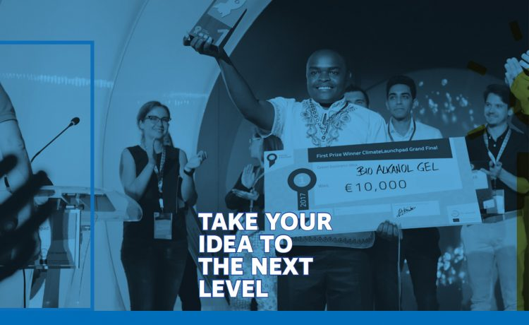 Do you have a global startup idea to combat climate change?
