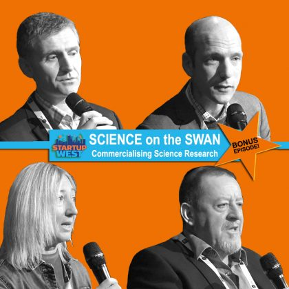 Startup West  ep21: Science on the Swan