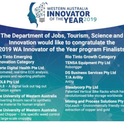 WA Innovator of the Year finalists announced