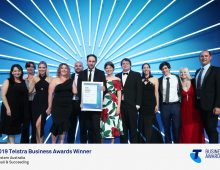 Workmetrics wins Telstra Business Award