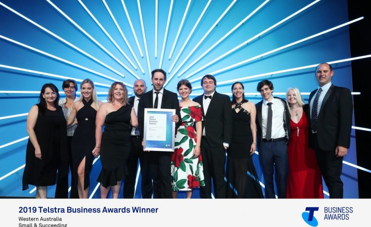 Workmetrics wins Telstra Business Award