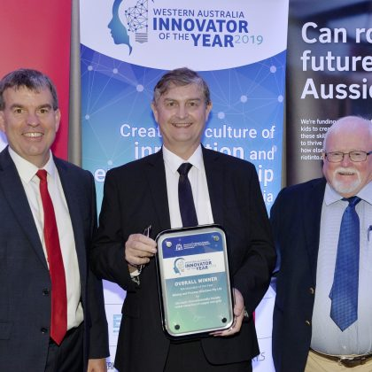Non-toxic biodegradable mining solution wins WA Innovator of the Year