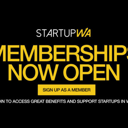 Startup WA announces a membership deal