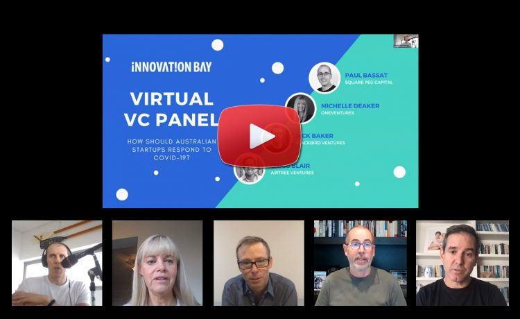 Online panel: how should Australian startups respond to COVID-19? {VIDEO}