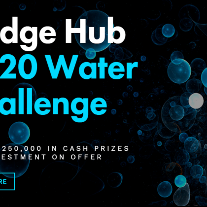 Bridge Hub 2020 Water Challenge: applications open now