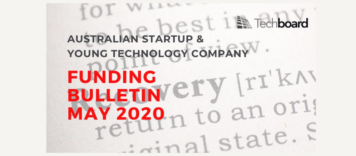 Australian startup funding improves a bit in May