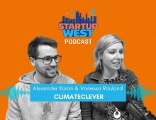 Startup West podcast ep43: Vanessa Rauland & Alexander Karan, ClimateClever
