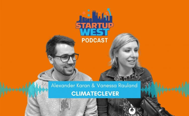 Startup West podcast ep43: Vanessa Rauland & Alexander Karan, ClimateClever