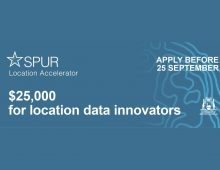 $25K grants now available from SPUR for location tech startups