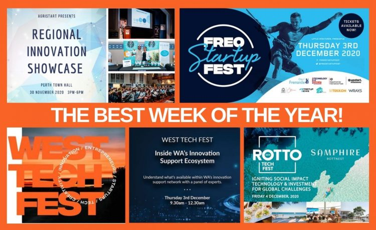 WTF, the best week of the year…