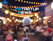 Startup Events – Nov/Dec 2020