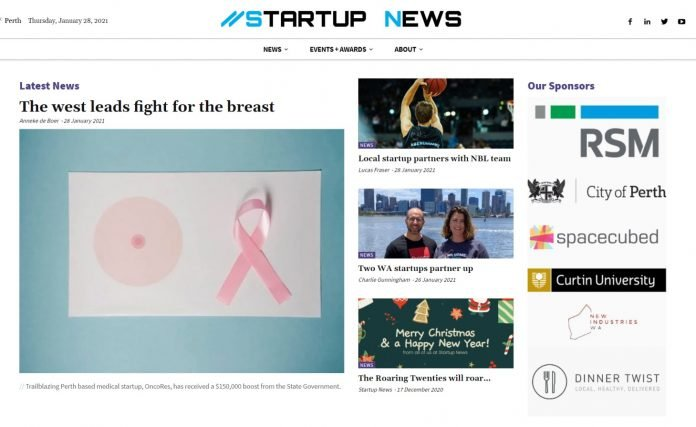 Startup News new site 2021