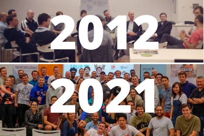 Spacecubed 2012 2021