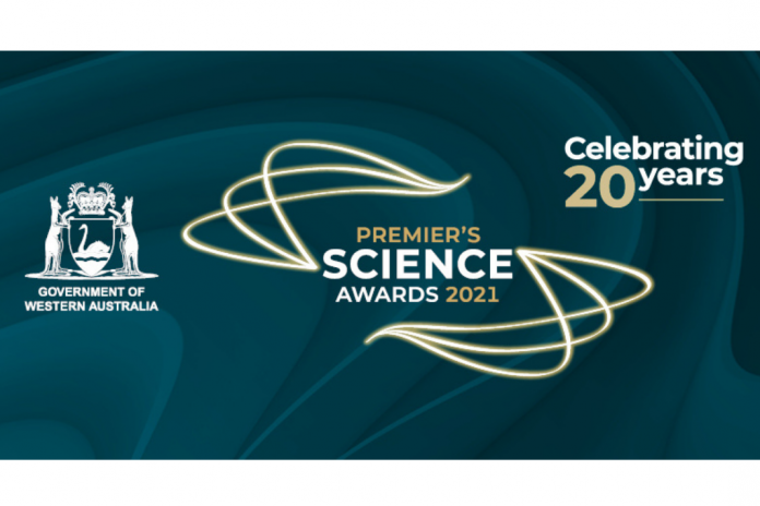 20th Premier Science Awards banner. Image Credits: WA Government