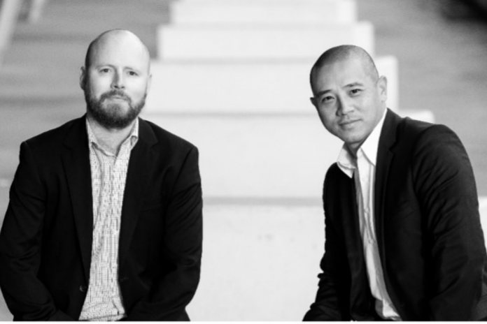 Procuracon founder Cuong Ly and Andrew McColgan