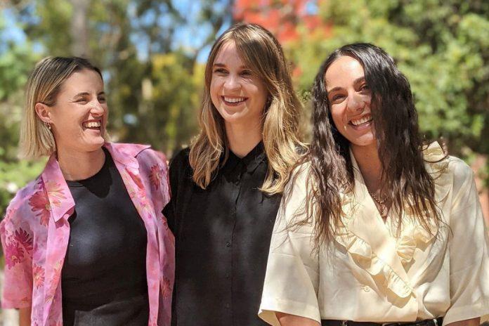 Fibre Economy Co-Founders Shannon Itzstein, Molly Ryan and Claudi Janse Van Rensburg