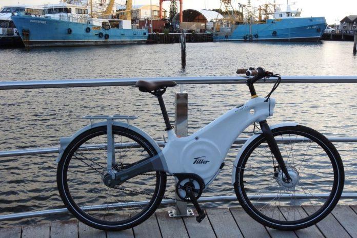Tiller Ride Fremantle harbour